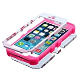 Product B00JGI8DCY - Product title MyBat iPhone 5S/5 TUFF Hybrid Phone Protector Cover with Stand - Retail Packaging - pink floral