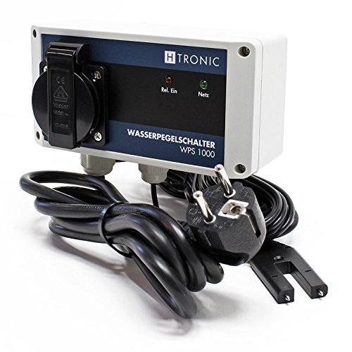 HTronic WPS 1000 Wasserpegelschalter mit Wassersensor und 2m Sensorkabel 1000W Wassermelder Picture