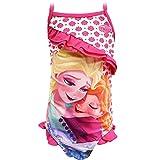Girls Disney Frozen One Piece Swimsuit - Fuchsia - Sizes 2/4/6 years
