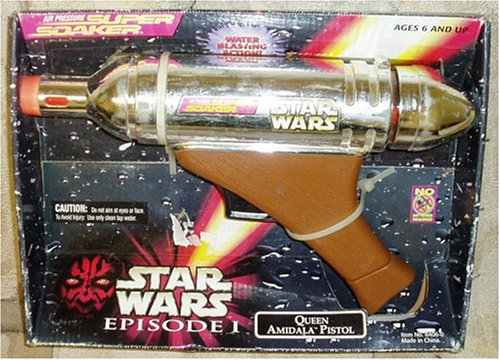 Star Wars Episode I Queen Amidala Pistol Air Pressure Super Soaker - 1