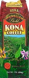 Hawaiian Gold Kona Coffee Gourmet Ble…