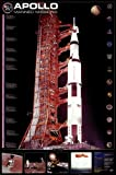 Apollo 11 Manned Mission Beautiful MUSEUM WRAP CANVAS Print with Added BRUSHSTROKES Unknown 24x36