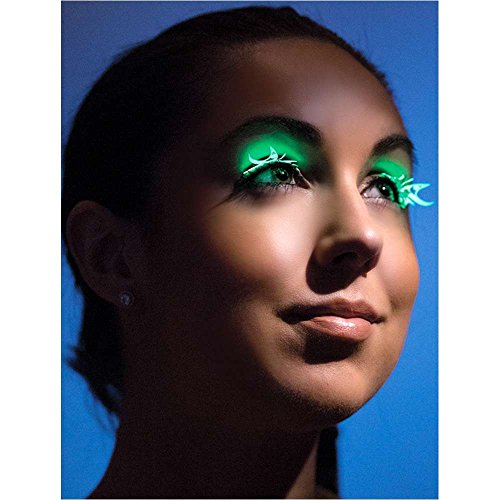 Glow-in-the-Dark Butterfly Eyelashes - One Size
