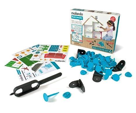 Makedo - 2700006 - Kit de Loisirs Créatifs - Find&Make - MaisondePoupée - 57PartiesRéutilisables