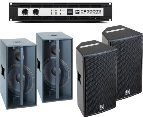 Electro-Voice Qrx 112 Speaker Package