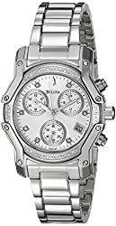 Bulova Women's 96R138 Diamond Dial Watch