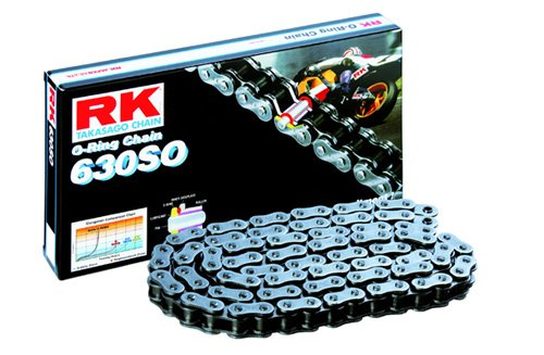 RK Racing Chain 630SO-88 88-Links O-Ring Chain with Connecting Link