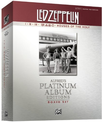 Led Zeppelin Authentic Guitar Tab Edition Boxed Set: Alfred'S Platinum Album Editions (Alfred'S Platinum Albums) By Led Zeppelin (2010) Sheet Music