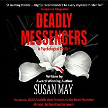 Deadly Messengers Audiobook by Susan May Narrated by Anne Johnstonbrown