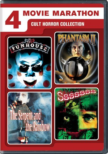 4 Movie Marathon: Cult Horror Collection [Import]