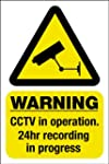 CCTV Window Sticker - Security Camera...