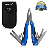 Gelindo Premium Pocket Multitool With Sheath, Knife, Pliers,...
