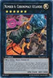 Yu-Gi-Oh! - Number 6: Chronomaly Atlandis (YS13-ENV11) - Super Starter Power-Up Pack - 1st Edition - Common