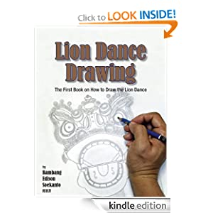 Lion Dance Drawing Book