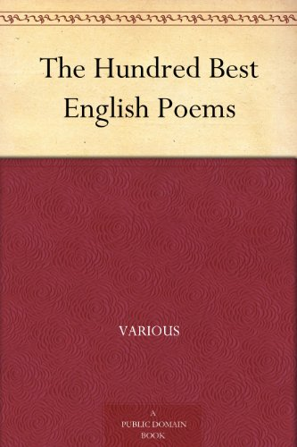 an analysis of the topic of the negotiations and the paperback on the one hundred best loved poems He is suspicious of the waves of free verse that have flooded the last one hundred and elizabeth bishop's paperback collected poems what i like best best.