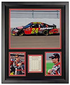 Art of Hollywood, Jeff Gordon Framed Photo Presentation - 18 x 22 Inch Size by Art of Hollywood