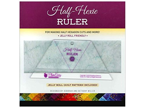 Half-Hexie Ruler by Plum Easy Patterns