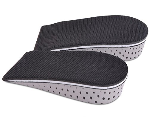 Sealike Breathable Memory Foam Height Increase Elevator Shoes Insole Lift Kit Heels Inserts for Men and Women with Stylus (0.91 inch) (Lift Kits Shoes Man compare prices)