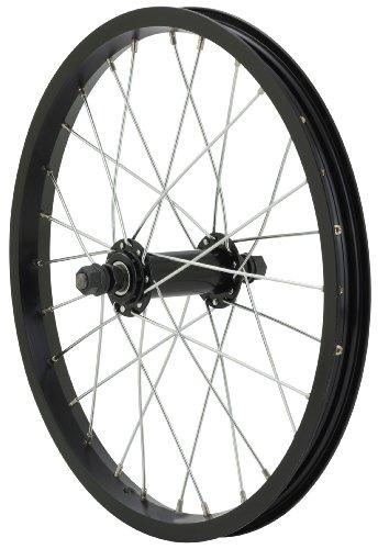 Avenir 28H Alloy 16 Inch x 1.50 Inch Front Wheel, Black