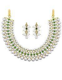 Jpearls Classic Pearl Necklace - B00WR0F64Q