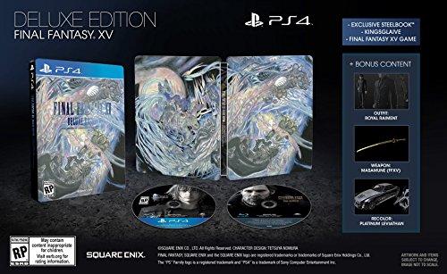 Final Fantasy XV Deluxe Edition - PlayStation 4