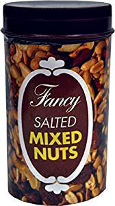 Fancy Salted Mixed Nuts - The Classic Snake Nut Can