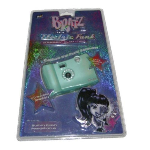 Bratz Electric Funk Glimmering Glam Cam Camera Take Pictures 35mm Film - 1