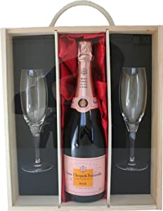 Veuve Clicquot Brut Rose Gift Box - Gift ideas for - Valentines,Presents,Birthday,Men,Him,Dad,Her,Mum,Thank you,Wedding Anniversary,Engagement,18th,21st,30th,40th,50th,60th,70th,80th,90th