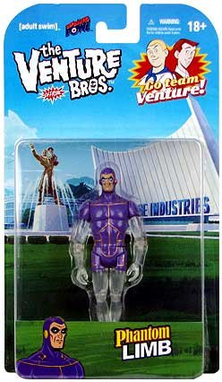 Venture Bros. Phantom Limb 3 3/4-Inch Figure - 1