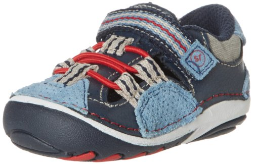 Stride Rite Srt Sm Elijah Sneaker (Infant/Toddler),Blue/Red,5.5 M Us Toddler front-962163