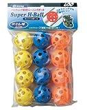 UNIX(ユニックス) 野球 練習用品 トレーニングボール スーパーHボール(12pcs) BX77-72