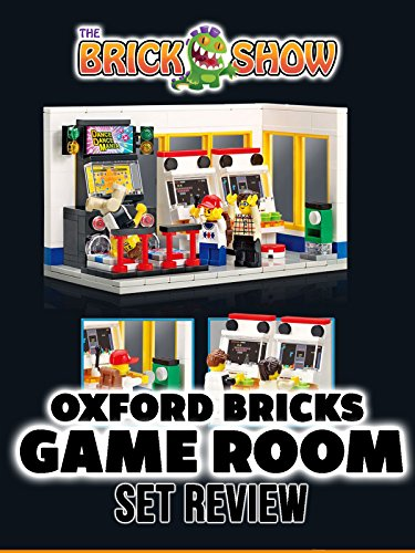 Review: Oxford Bricks Game Room Set Review on Amazon Prime Video UK