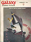 Galaxy Science Fiction Magazine, February 1953 (Vol. 5, No. 5)