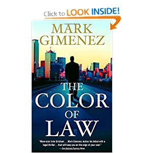 The Color Of Law - Mark Gimenez