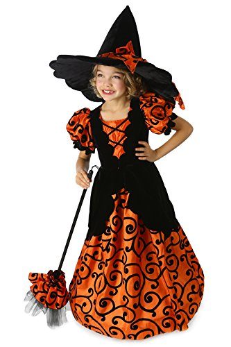 Children's Curly the Witch Costume- Size Small (6)