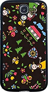 Dot Print Back Cover For Samsung Galaxy S4 Cartoon Characters Printed Case
