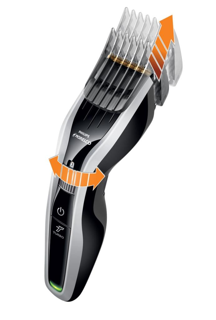 Hair Trimmers : ... Philips Norelco HC7452/41 7100 Hair Clipper Beard Trimmer Lithium Ion