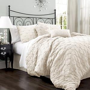 Amazon Com Lush Decor Lake Como 4 Piece Comforter Set