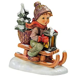 M.I Hummel (Ride Into Christmas Figurine)