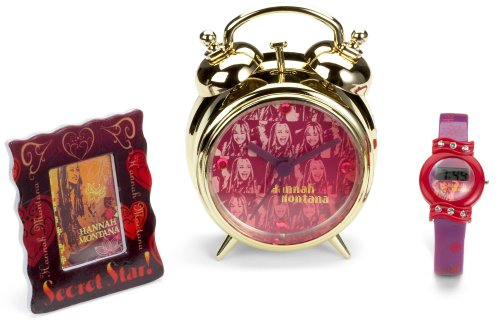 Hannah Montana Lcd Watch, Alarm & Picture Frame Set
