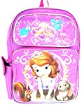 New Fashion Disney Sofia the First Backpack Princess Castle Girls Backpack - 011 ACT