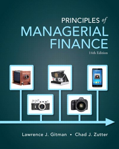 Principles of Managerial Finance (Pearson Series in Finance)