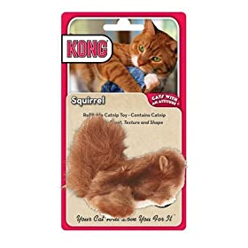 KONG Cats with an Attitude  - Squirrel Catnip Toy
