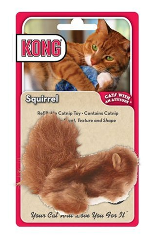 Kong Catnip Cat Toy, Squirrel