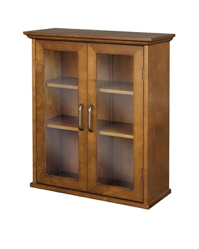 Elegant Home Fashions Avery Double Door Wall Cabinet