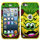 Phonetatoos (TM) for iPod touch (5th generation) Pineapple/Yellow TUFF Hybrid Phone Protector Cover - Lifetime Warranty