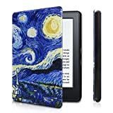 WITCASE Cover for Kindle, Protective and Form Fitting Case for All-New Kindle (8th Generation, 2016) (Starry Night)