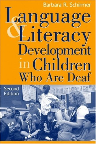 Language And Literacy Development In Children Who Are Deaf (2Nd Edition) front-20820