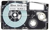 カシオ ラベルライター ネームランド テープ 18mm XR-18WE-5P-E 白5本