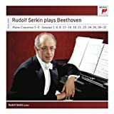 echange, troc  - Rudolf Serkin plays Beethoven Concertos, Sonatas and Variations